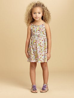 Oscar de la Renta - Toddler's & Little Girl's Floral Knit Sundress