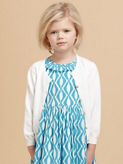 Oscar de la Renta - Toddler's & Little Girl's Cotton Cardigan