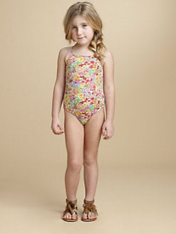 Oscar de la Renta - Toddler's & Little Girl's Floral One-Piece Swimsuit