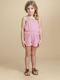 Oscar de la Renta - Toddler's & Little Girl's Terry Romper