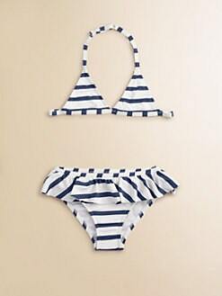 Junior Gaultier - Toddler's & Little Girl's Sailor Stripe Two-Piece Bathing Suit
