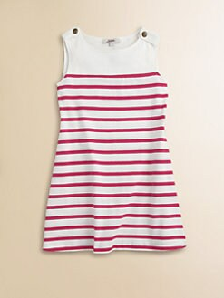 Junior Gaultier - Toddler's & Little Girl's Striped Jersey Cotton Dress