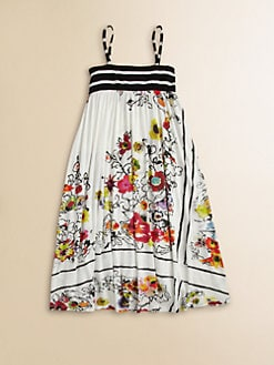 Junior Gaultier - Toddler's & Little Girl's Bohemian Print Maxi Dress