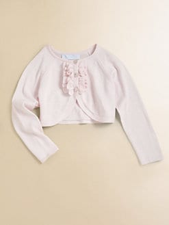 Tartine et Chocolat - Toddler's & Little Girl's Ruffled Cropped Sweater