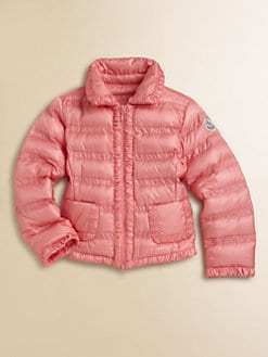Moncler - Toddler's & Little Girl's Ruched Down Jacket