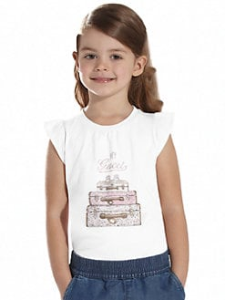 Gucci - Little Girl's Luggage Tee