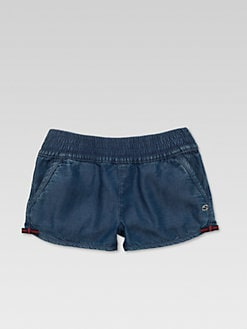 Gucci - Little Girl's Denim Shorts