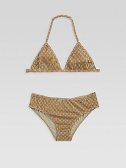 Gucci - Toddler's & Little Girl's Two-Piece GG Stars Bikini Set