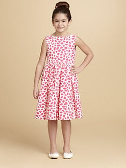 Oscar de la Renta - Toddler's & Little Girl's Abstract Print Dress