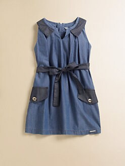 Little Marc Jacobs - Toddler's & Little Girl's Chambray Dress