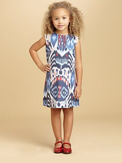 Oscar de la Renta - Toddler's & Little Girl's Ikat Print Dress