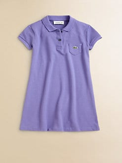 Lacoste - Toddler's & Little Girl's Pique Polo Dress