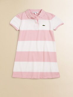 Lacoste - Toddler's & Little Girl's Striped Polo Dress