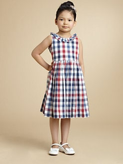 Oscar de la Renta - Toddler's & Little Girl's Ruffled Plaid Dress
