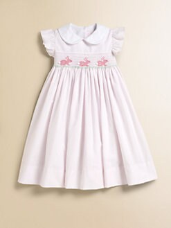 Anavini - Toddler's & Little Girl's Mini-Striped Bunny Float Dress