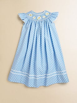 Anavini - Toddler's & Little Girl's Daisies Angel Dress