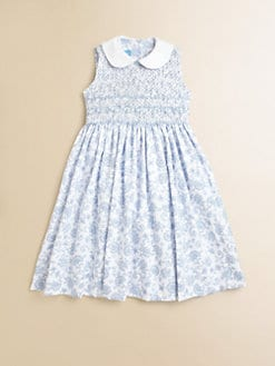 Anavini - Toddler's & Little Girl's Miranda Toile Piqué Sundress
