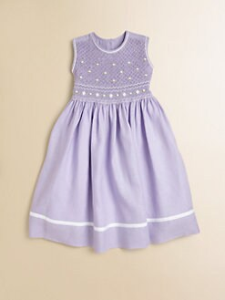 Anavini - Toddler's & Little Girl's Julie Smocked Dress