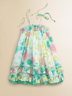 Halabaloo - Toddler's & Little Girl's Multi-Color Floral Dress
