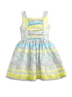 Halabaloo - Toddler's & Little Girl's Jacquard Striped Dress