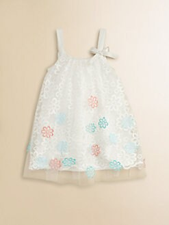 Halabaloo - Toddler's & Little Girl's Embroidered Floral Dress