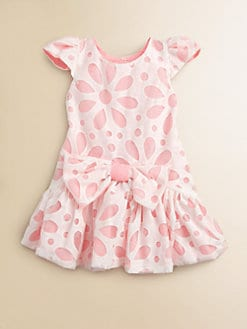 Halabaloo - Toddler's & Little Girl's Floral Lace Dress