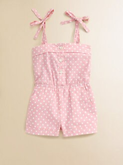 Baby CZ - Toddler's & Little Girl's Dot Romper
