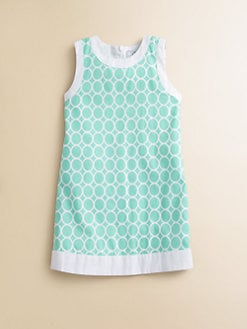 Baby CZ - Toddler's & Little Girl's Circles Shift Dress