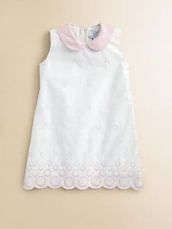 Baby CZ - Toddler's & Little Girl's Embroidered Dress