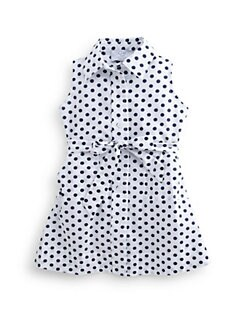 Baby CZ - Toddler's & Little Girl's Dotted Shirtdress