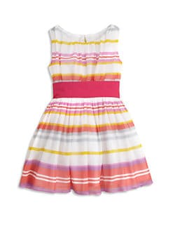Halabaloo - Toddler's & Little Girl's Candy-Striped Dress