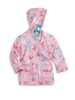 Hatley - Toddler's & Little Girl's Flying Butterflies Raincoat