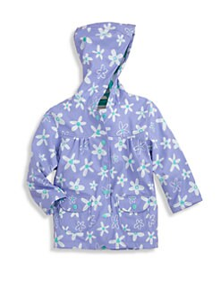 Hatley - Toddler's & Little Girl's Crafty Flowers Raincoat