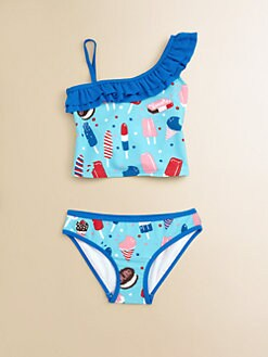 Hatley - Toddler's & Little Girl's Icy Treats Two-Piece Tankini Set