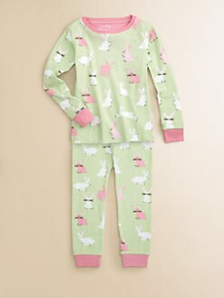 Hatley - Toddler's & Little Girl's Pretty Bunnies Pajama Set