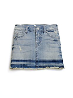 7 For All Mankind - Toddler's & Little Girl's Distressed Denim Skirt