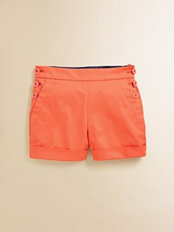 Little Marc Jacobs - Toddler's & Little Girl's Gabardine Sailor Shorts