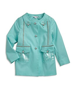 Little Marc Jacobs - Toddler's & Little Girl's Studded Trench Coat