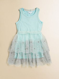Little Marc Jacobs - Toddler's & Little Girl's Mini-Me Embroidered Overlay Dress
