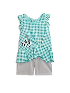 Little Marc Jacobs - Toddler's & Little Girl's Gingham Tunic