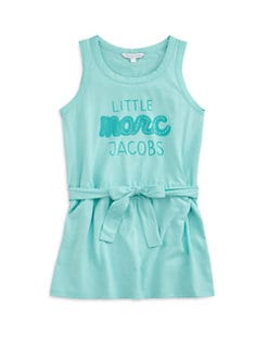 Little Marc Jacobs - Toddler's & Little Girl's Logo Tank Dress
