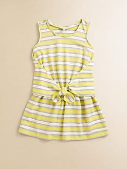 Little Marc Jacobs - Toddler's & Little Girl's Striped Jersey Tie Dress