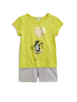 Little Marc Jacobs - Toddler's & Little Girl's Balloon Tee
