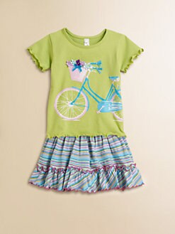Love U Lots - Toddler's & Little Girl's Bicycle Tee