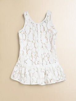 Milly Minis - Toddler's & Little Girl's Crocheted-Lace Cover-Up