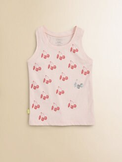 Egg Baby - Toddler's & Little Girl's Cherry Tank