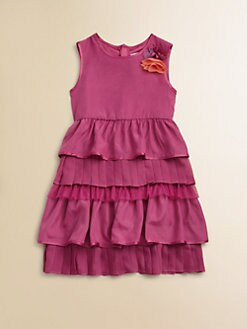 DKNY - Toddler's & Little Girl's Tiered Dress