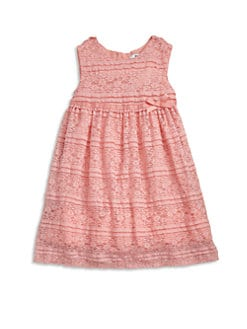 DKNY - Toddler's & Little Girl's Stretch Lace Dress