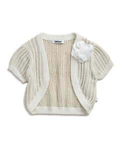 DKNY - Toddler's & Little Girl's Shrug Sweater
