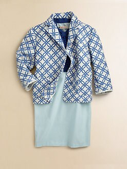 Marni - Toddler's & Little Girl's Textured Print Jacket